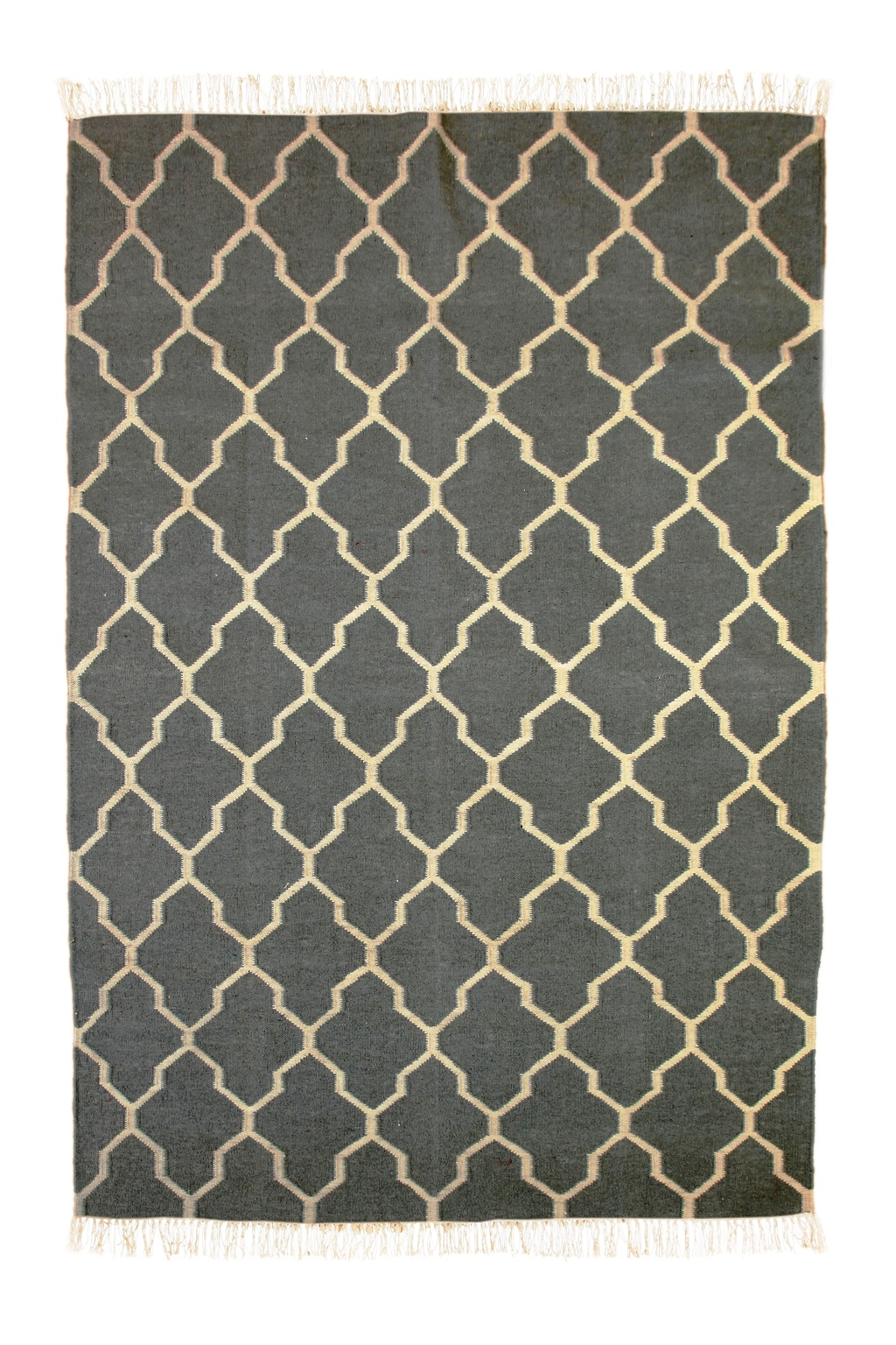 and fine dark by dhurrie bd gray weave collection gobi products blue area rug flat dblgry in