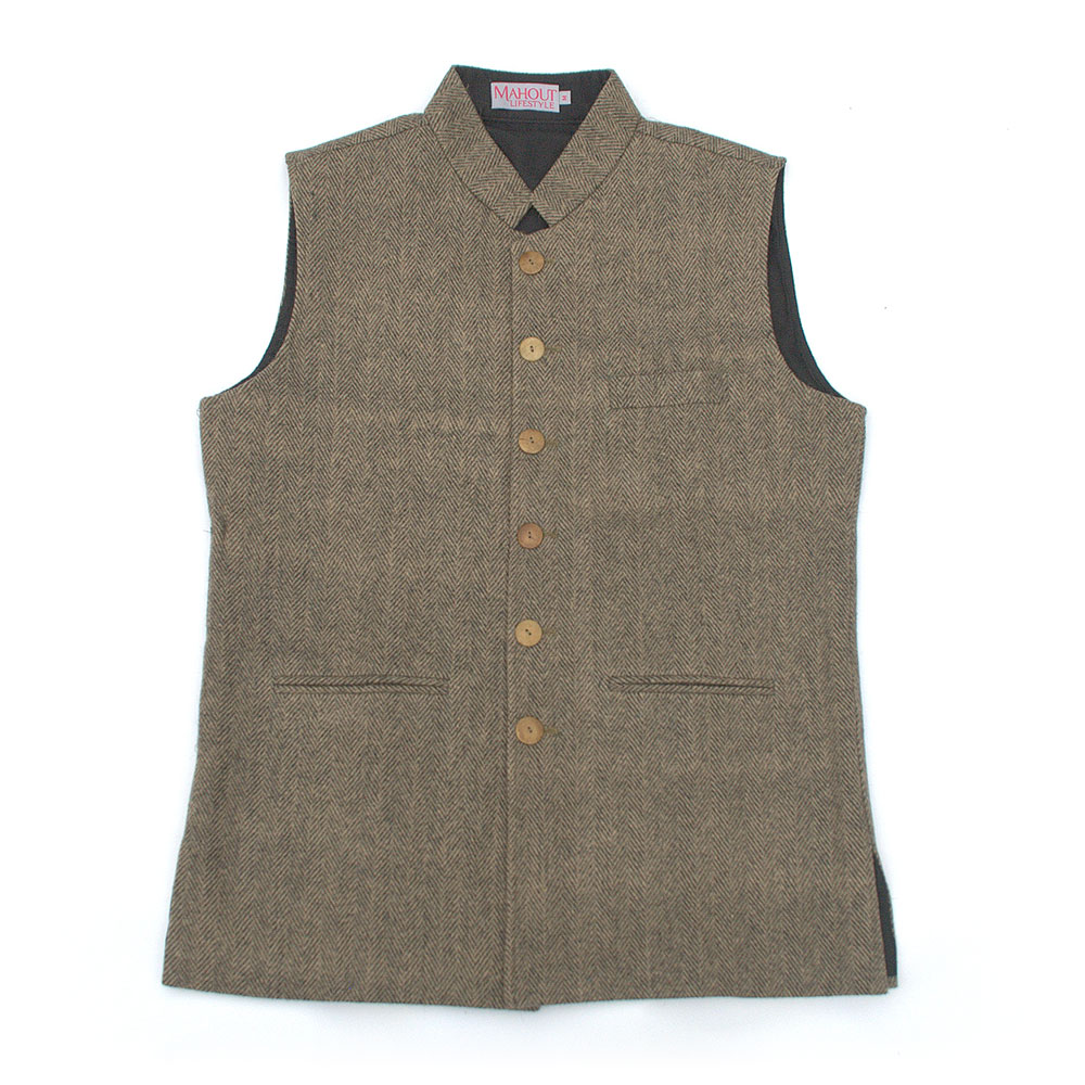 brownblack_herringbone_tweed_jerkin_gilet_